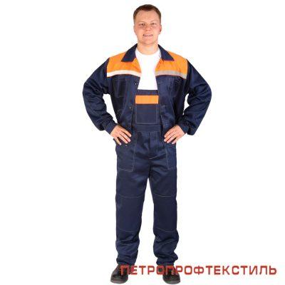 Костюм ЛЕГИОН (оранжевый, куртка+полукомбинезон)