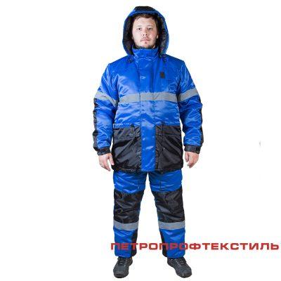 Костюм НОРД (утепленный, куртка+полукомбинезон)