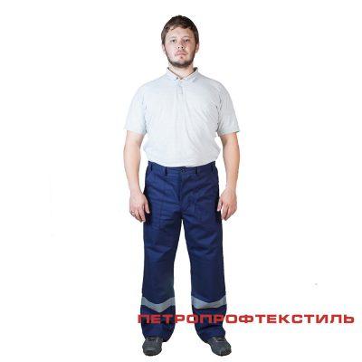 Костюм ПРОФИ САРЖА (хлопок, куртка+брюки)