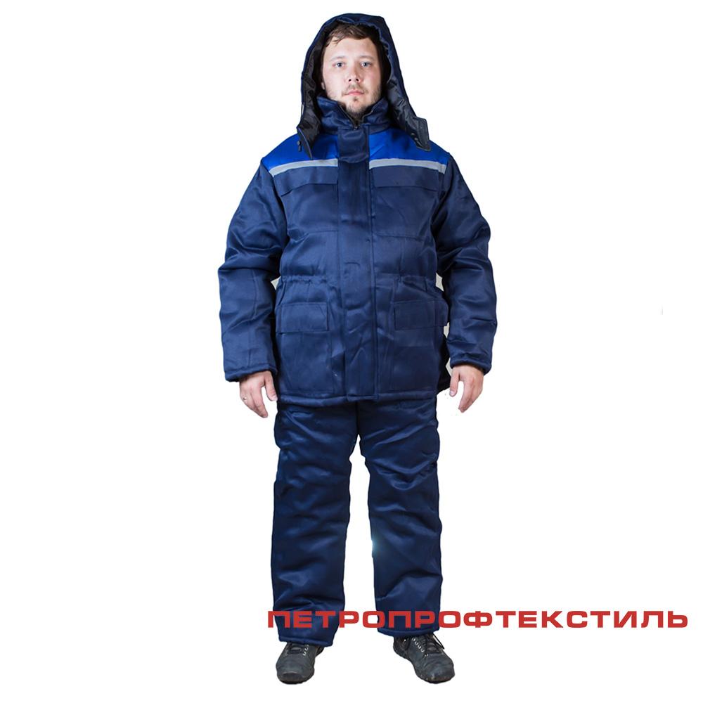 Костюм СПЕЦИАЛИСТ (утепленный, куртка+полукомбинезон)