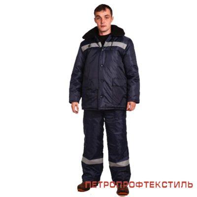 Костюм СПЕЦ (утепленный, полукомбинезон)