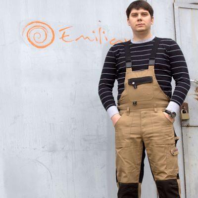 Рабочие брюки и полукомбинезоны