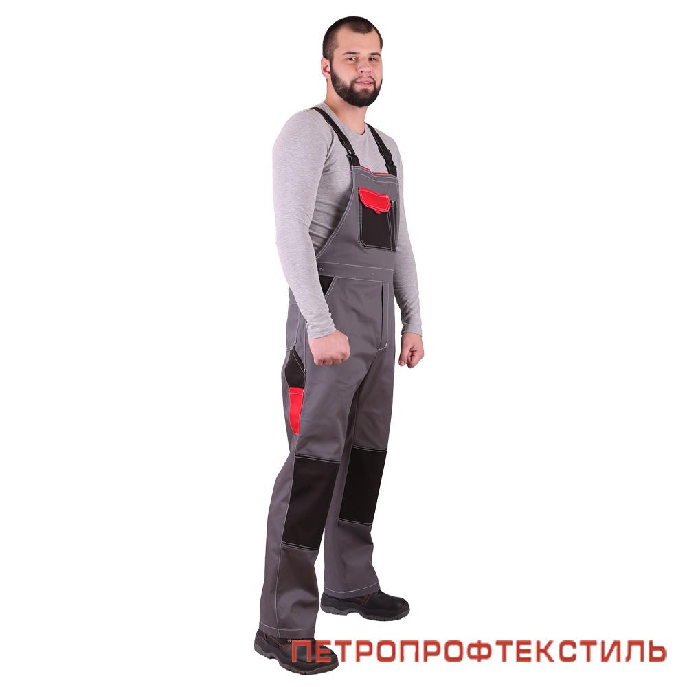 Костюм ГОРОД (красный, полукомбинезон)