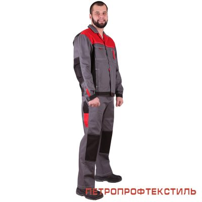 Костюм ГОРОД (красный, куртка+полукомбинезон)