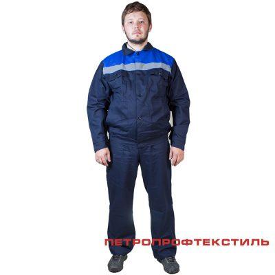 Костюм ФЛАГМАН-2 (куртка+полукомбинезон, хлопок)