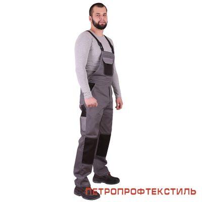 Костюм ГОРОД (серый, полукомбинезон)