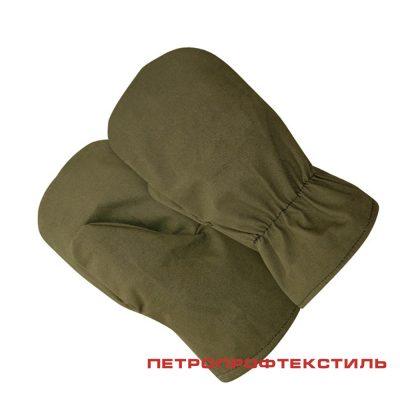 Рукавицы ХБ (тк. Палатка)