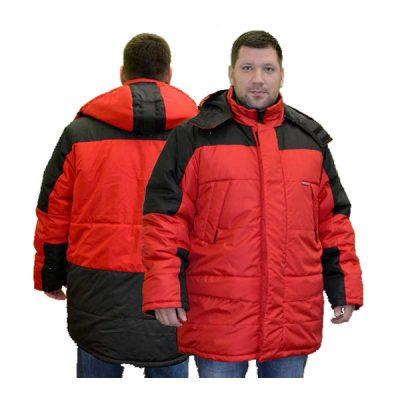 Куртка СИТИ утепленная (цв. красный)