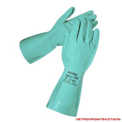 Перчатки нитриловые СОЛВЕКС