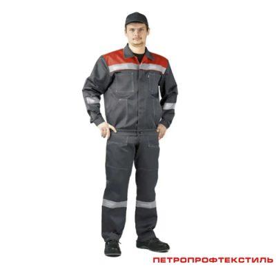 Костюм рабочий ЛЕГИОН красный
