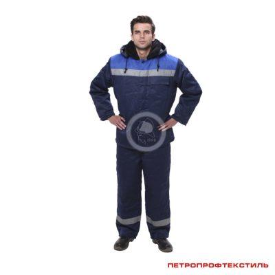 Костюм рабочий утепленный УНИВЕРСАЛ (куртка и полукомбинезон)